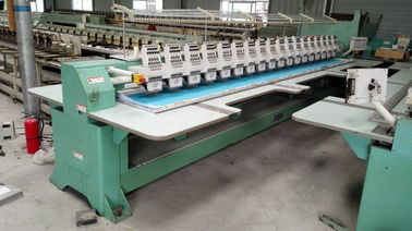 9 Needles Second Hand Tajima Electric Embroidery Machine TMFD-G918